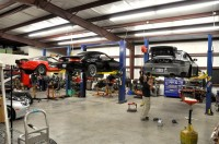 a late work night at Boost