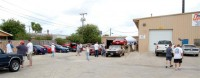 The crowd at Motion Dynamics' Dyno day