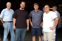 Jim, Brian, Craig and Joey