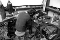 Marc welding at Boost Logic