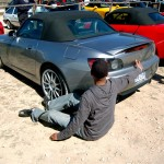 Here Onion huggs his S2000