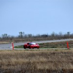 The red Lotus takes a turn at Harris Hill