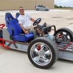 The zwheelz with its inventor