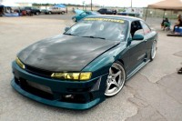 240SX drift car at HIN